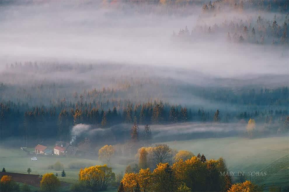 Польша - между облаков и туманов