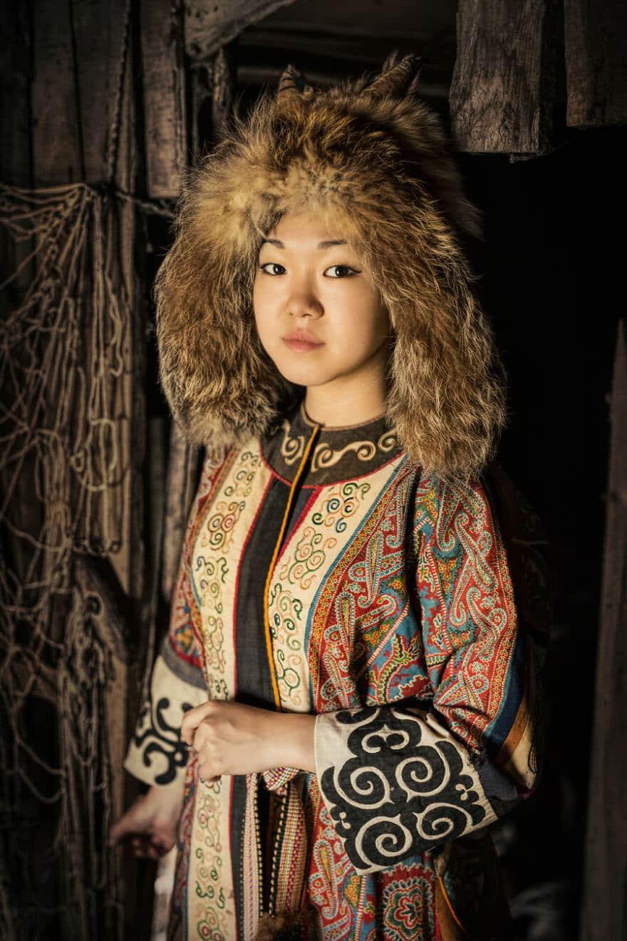 Уникальные портреты коренных жителей Сибири, фото 10