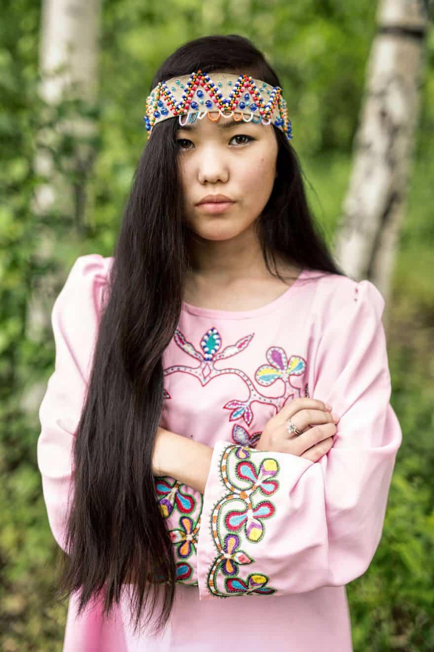 Уникальные портреты коренных жителей Сибири, фото 13