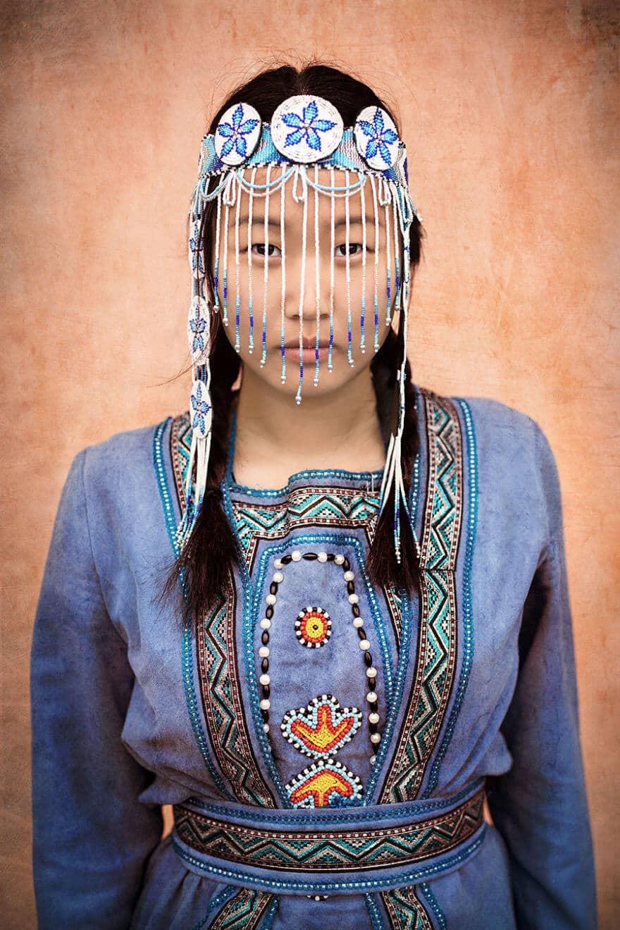 Уникальные портреты коренных жителей Сибири, фото 15