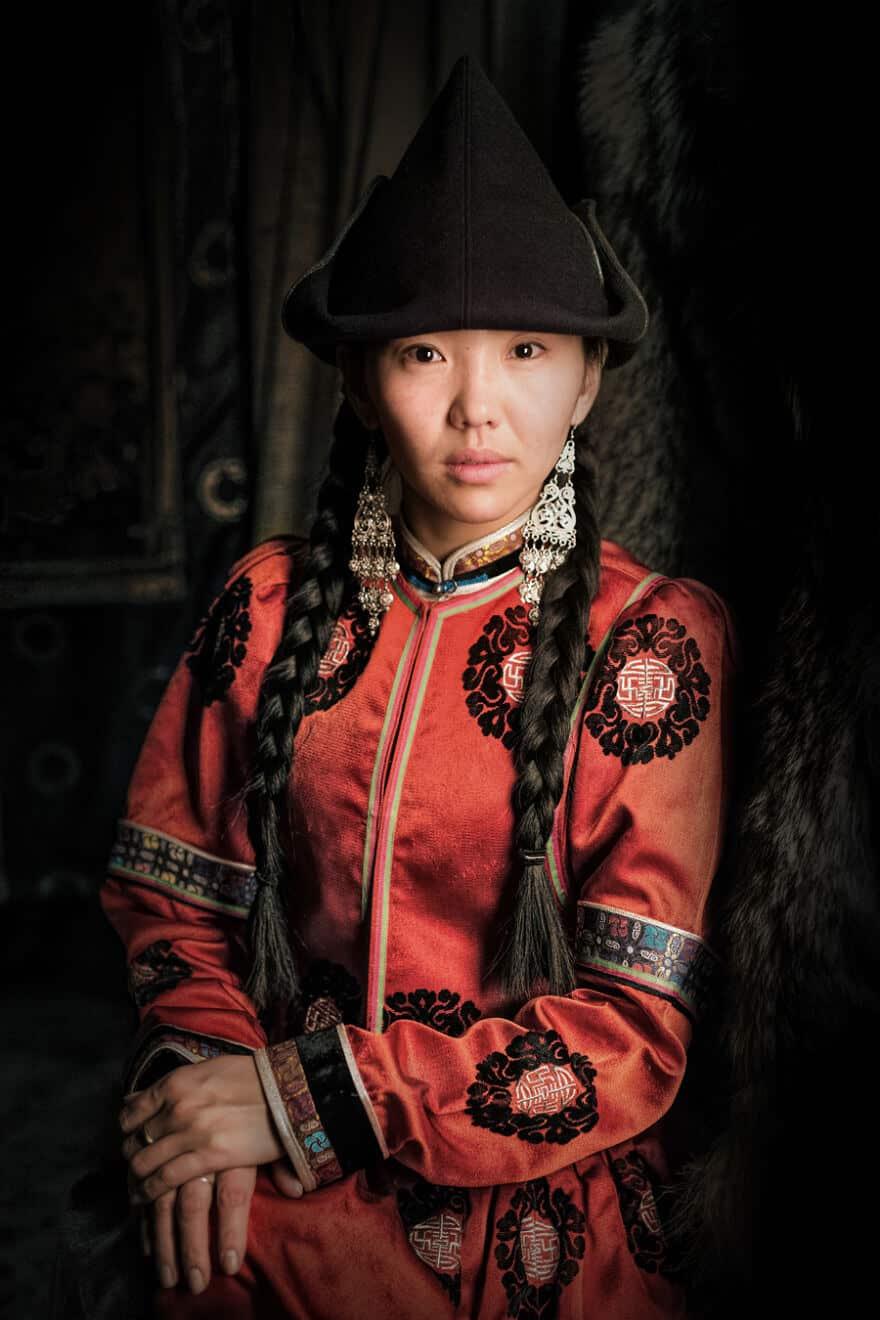 Уникальные портреты коренных жителей Сибири, фото 16