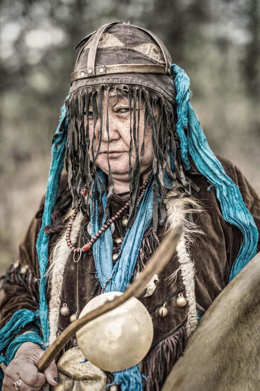 Уникальные портреты коренных жителей Сибири, фото 18