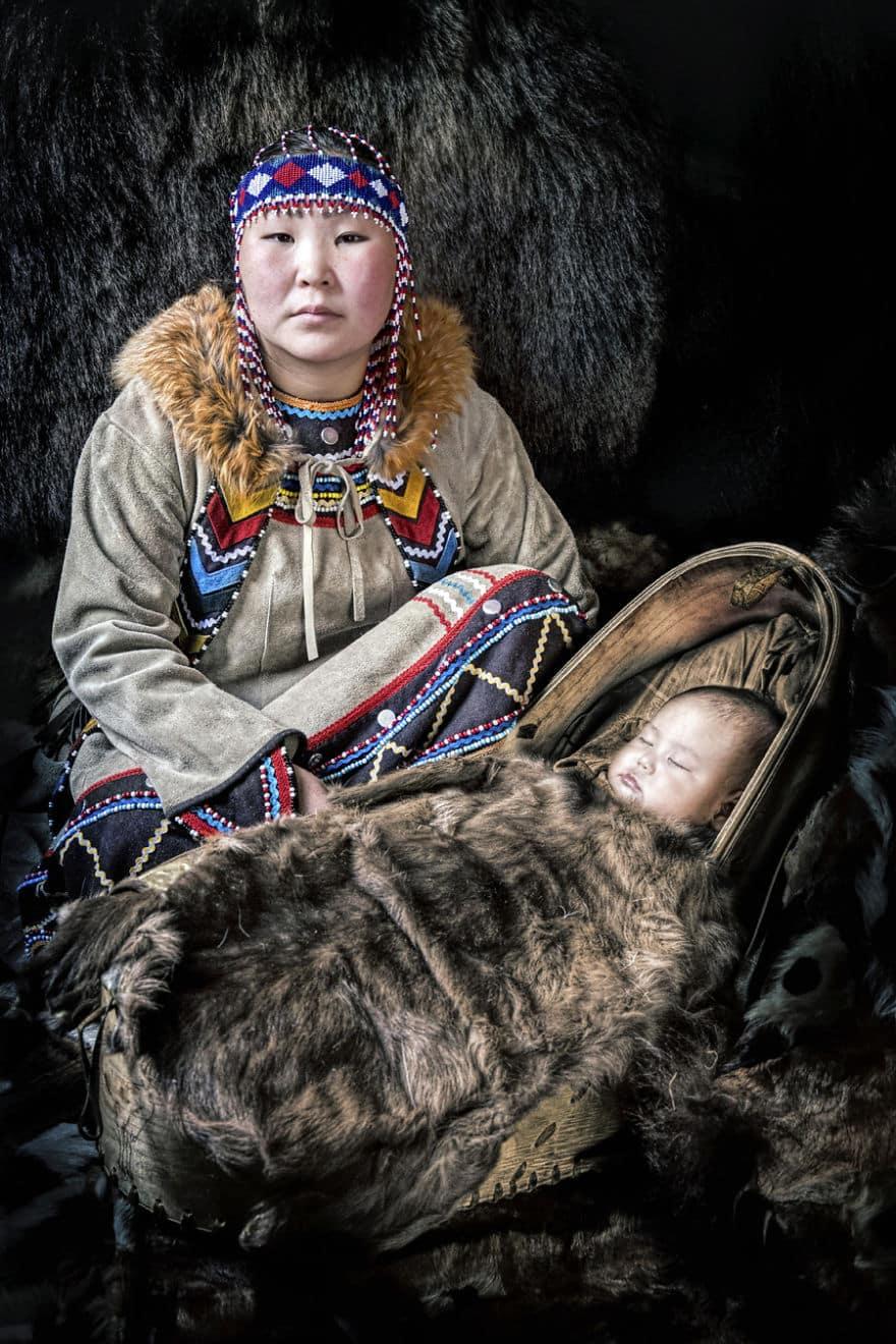 Уникальные портреты коренных жителей Сибири, фото 19