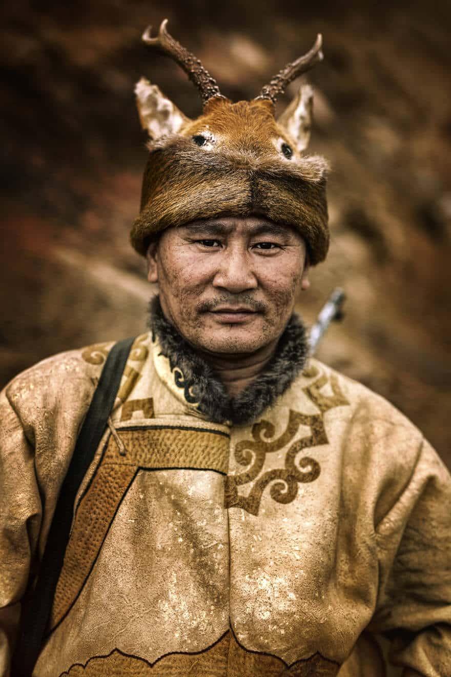 Уникальные портреты коренных жителей Сибири, фото 21