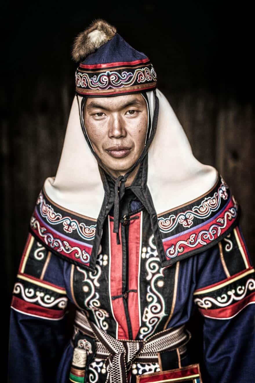 Уникальные портреты коренных жителей Сибири, фото 22