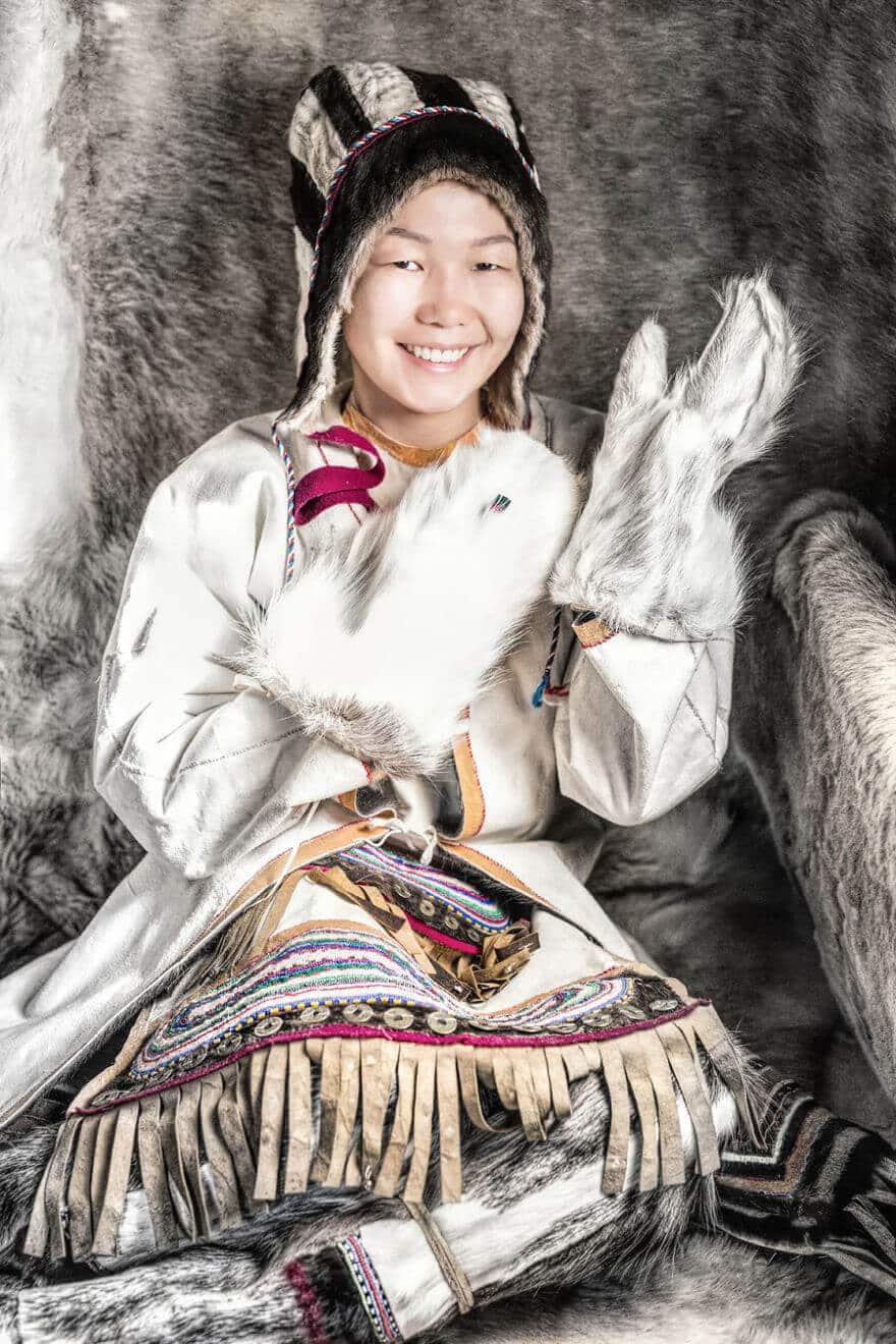 Уникальные портреты коренных жителей Сибири, фото 23