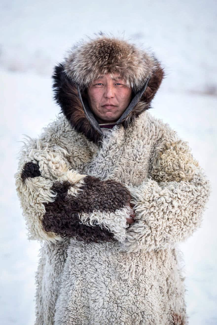 Уникальные портреты коренных жителей Сибири, фото 24