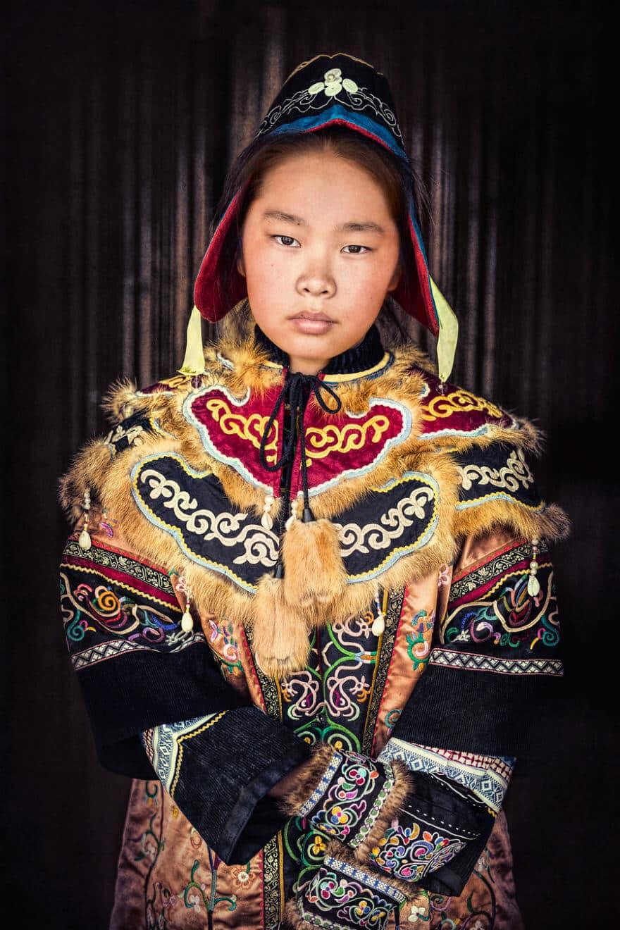 Уникальные портреты коренных жителей Сибири, фото 25