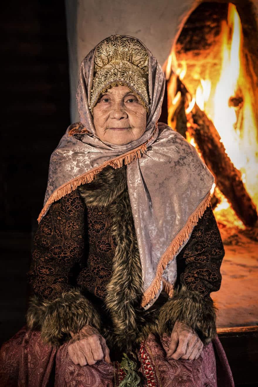 Уникальные портреты коренных жителей Сибири, фото 26