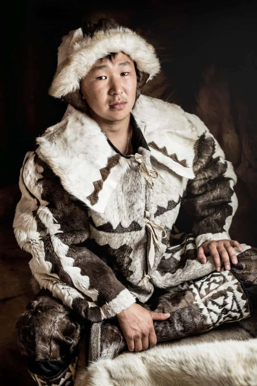 Уникальные портреты коренных жителей Сибири, фото 27