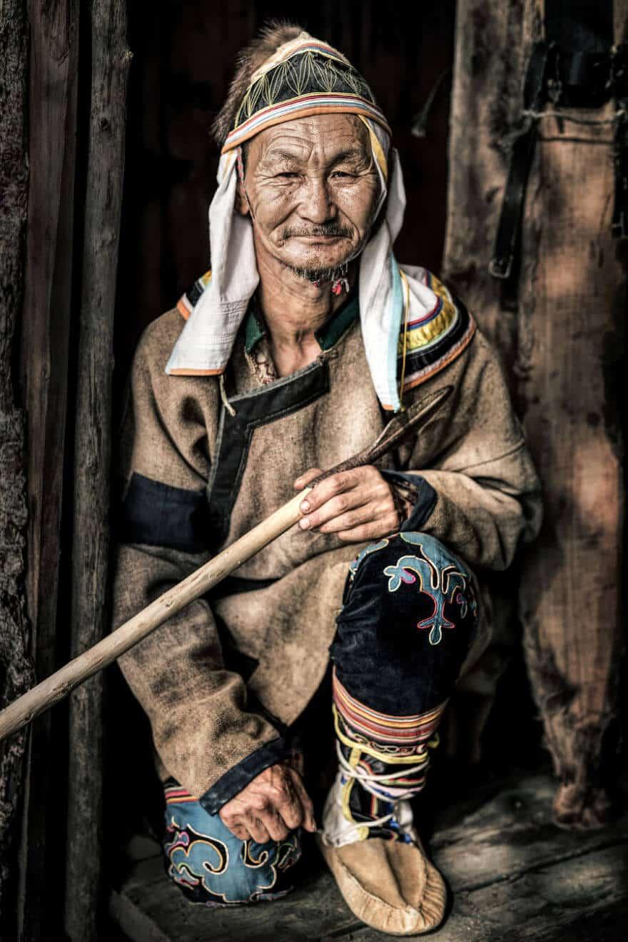 Уникальные портреты коренных жителей Сибири, фото 28