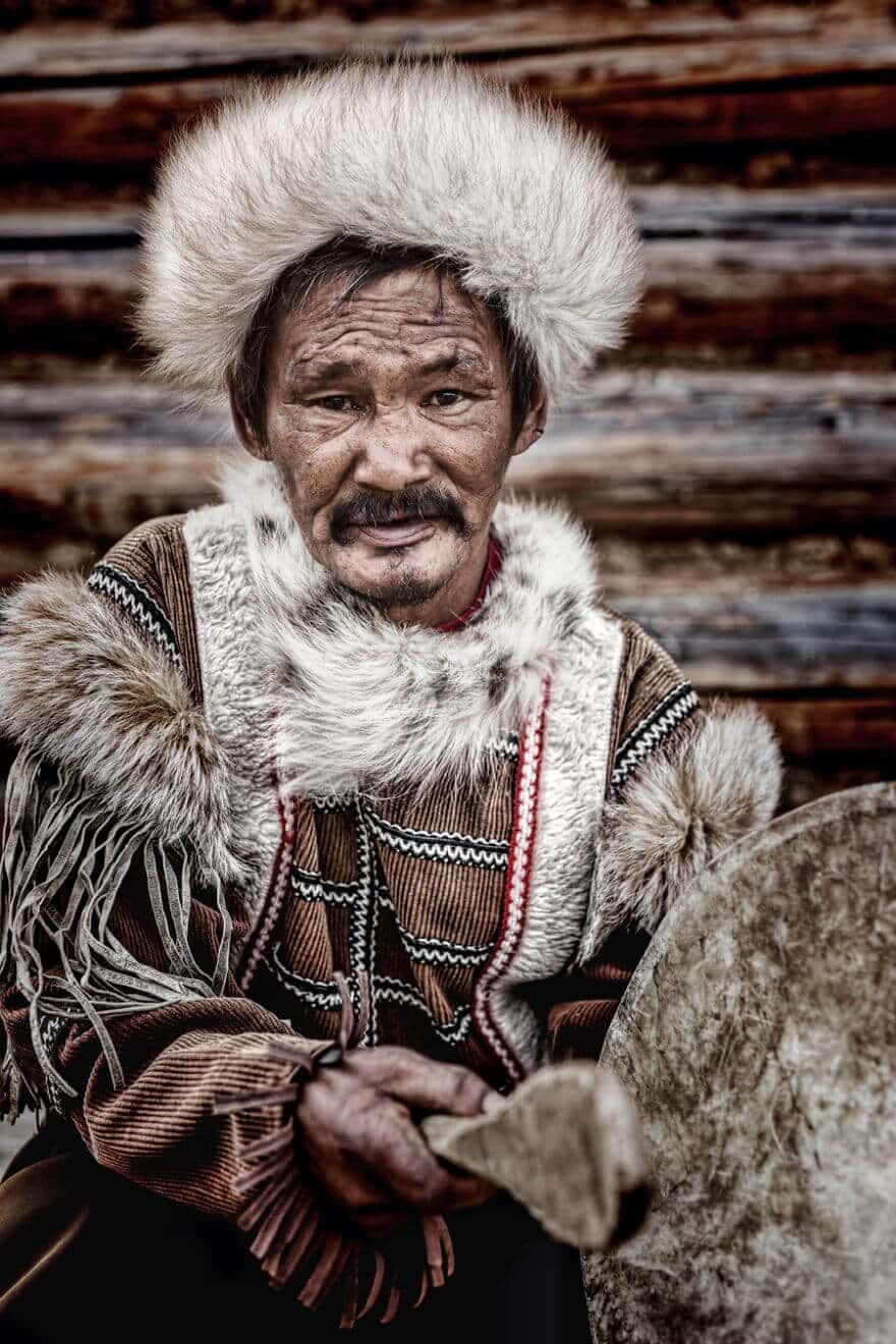 Уникальные портреты коренных жителей Сибири, фото 31