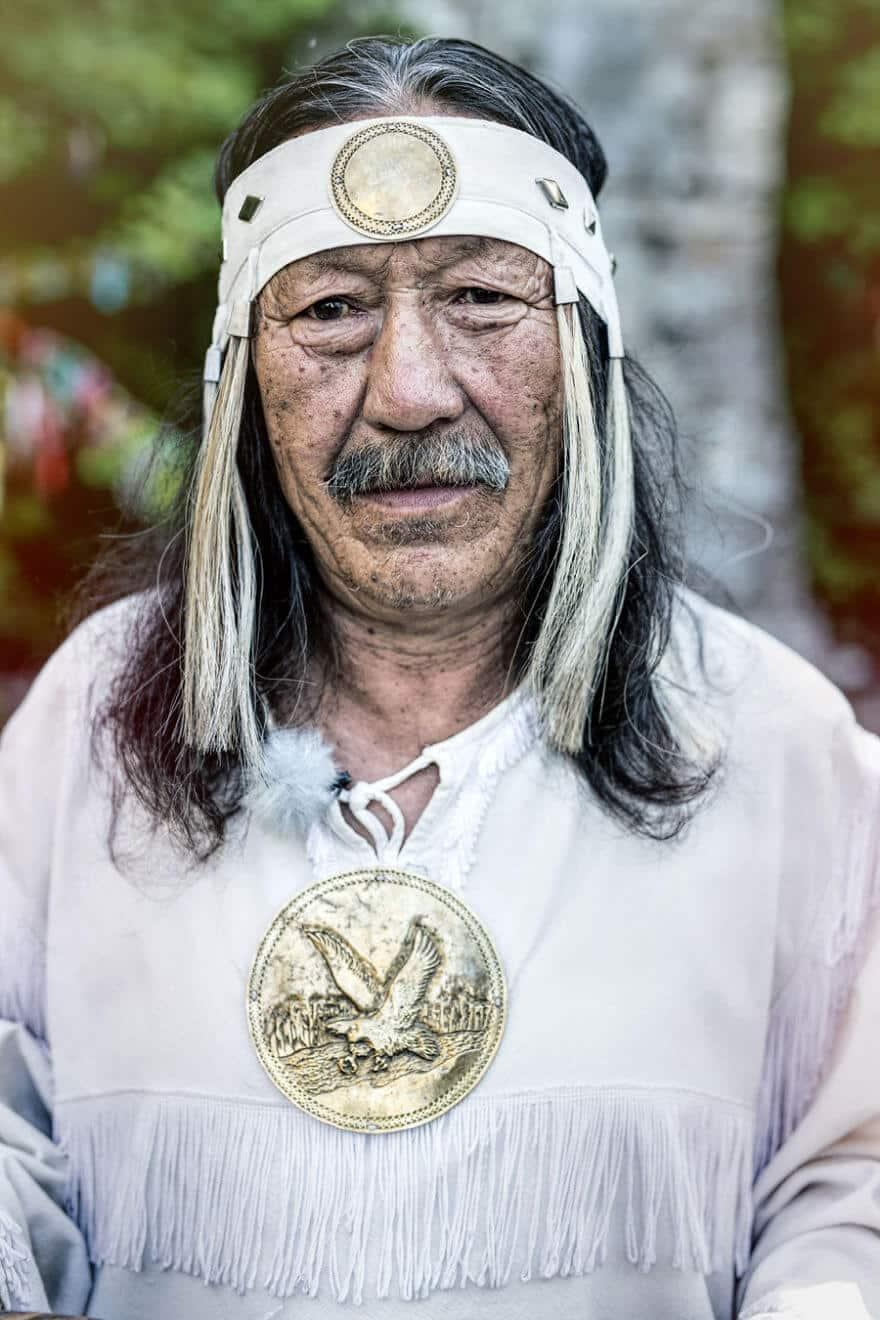 Уникальные портреты коренных жителей Сибири, фото 34