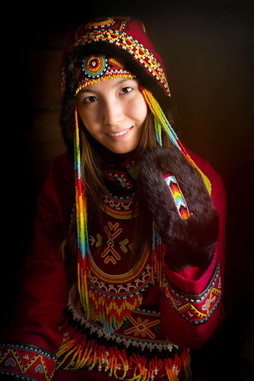 Уникальные портреты коренных жителей Сибири, фото 37