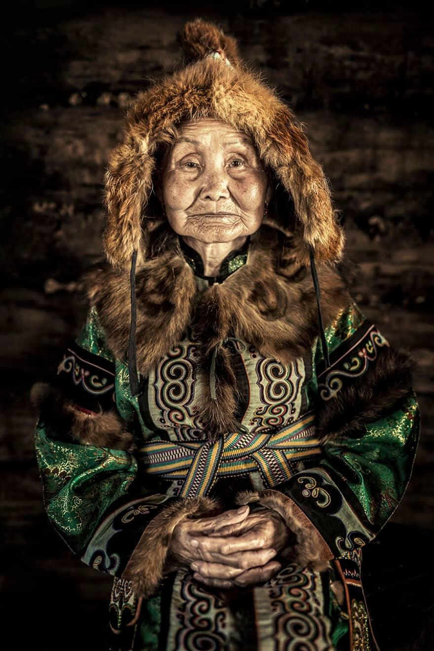 Уникальные портреты коренных жителей Сибири, фото 4