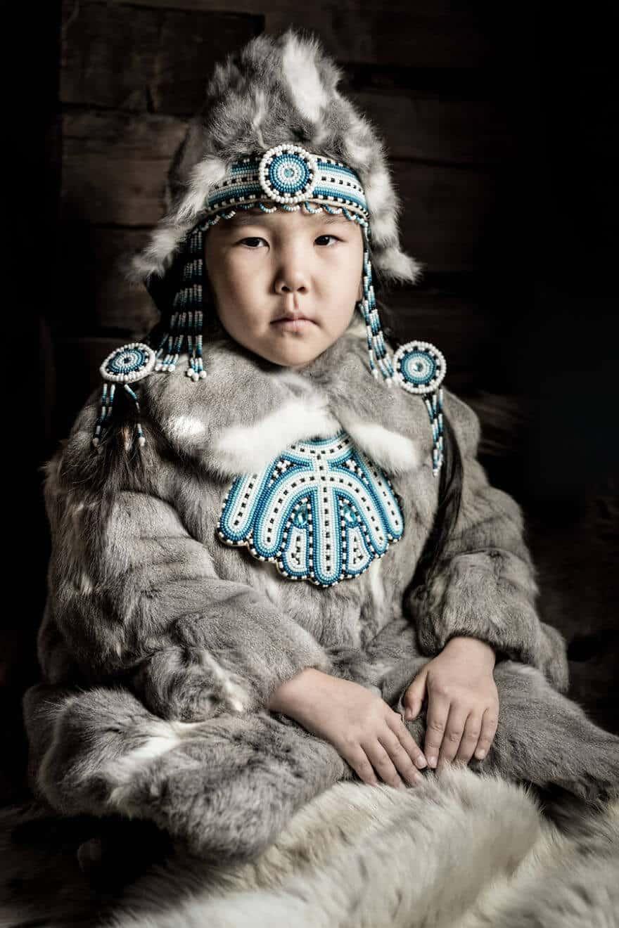 Уникальные портреты коренных жителей Сибири, фото 9