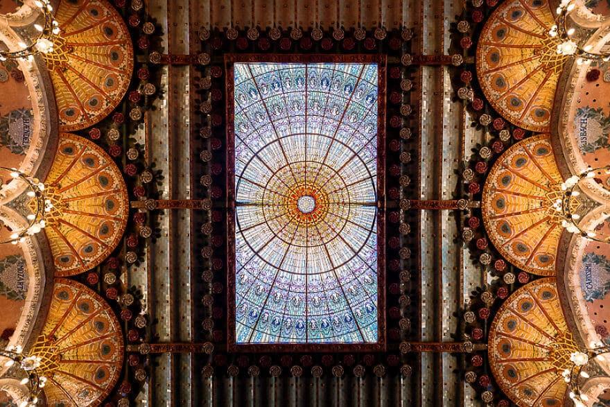 лучшие виды барселоны, Дворец каталонской музыки, фото 4