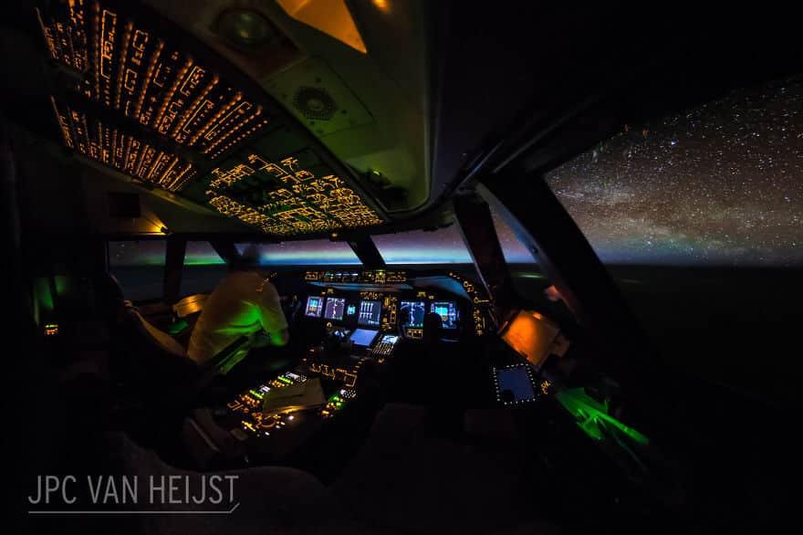 мир глазами пилота самолета