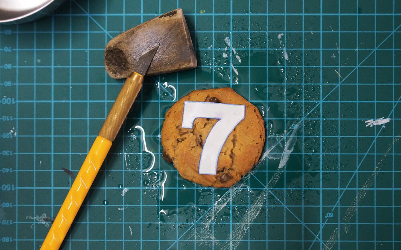 съедобная цифра 7