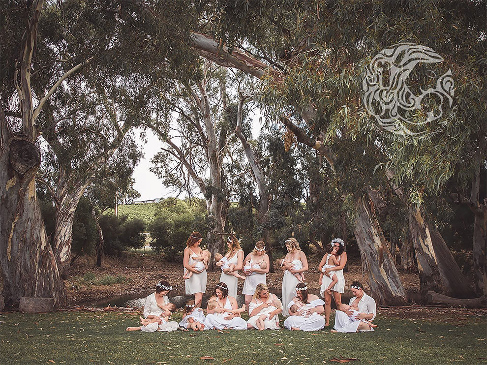 снимки матерей, кормящих грудью, фото 11
