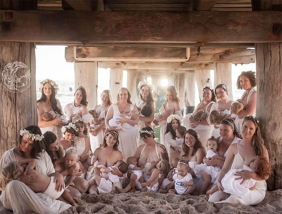 снимки матерей, кормящих грудью, фото 16