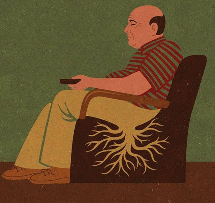современное общество в иллюстрациях