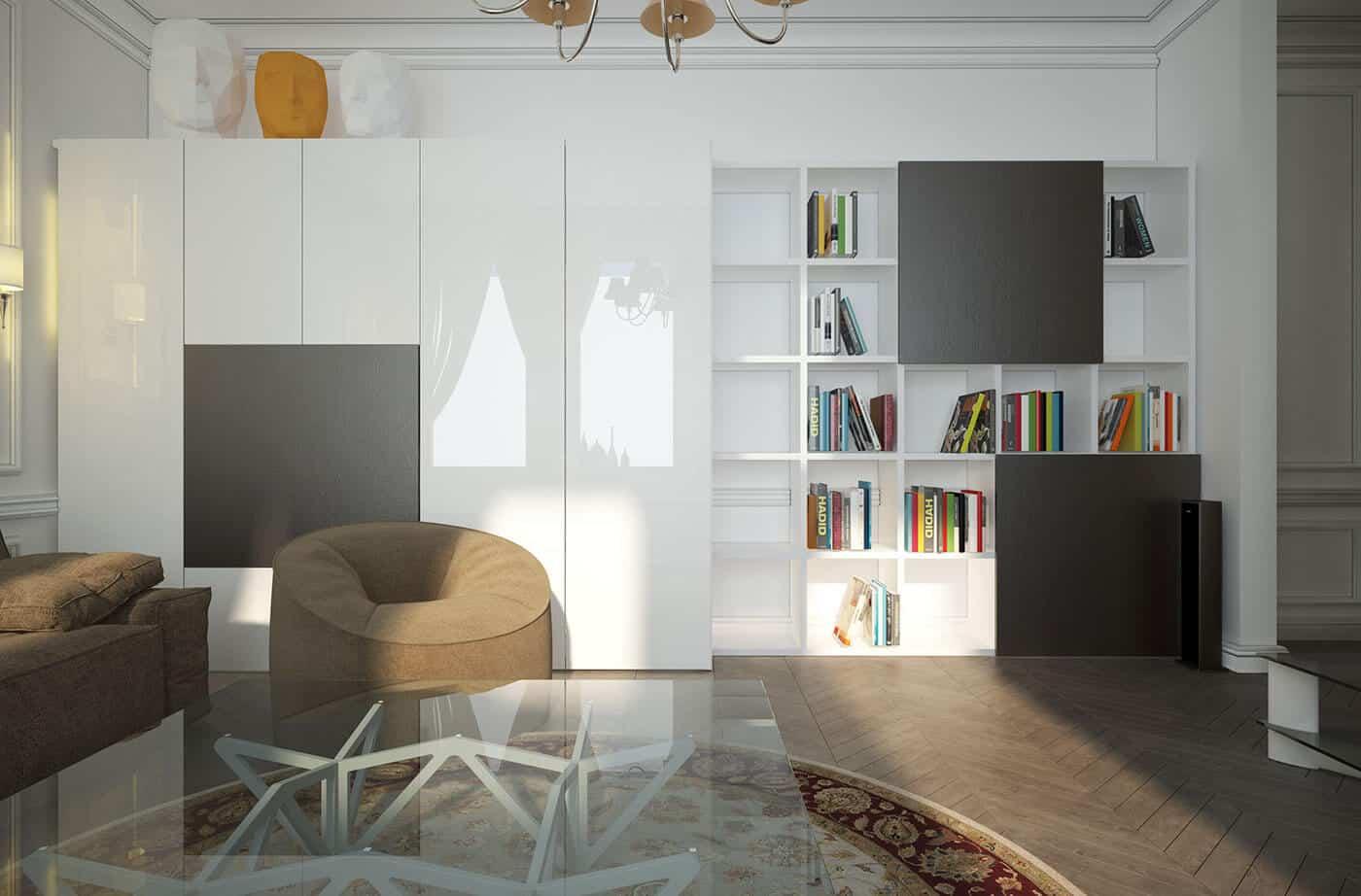 цвет и текстура в дизайне интерьера
