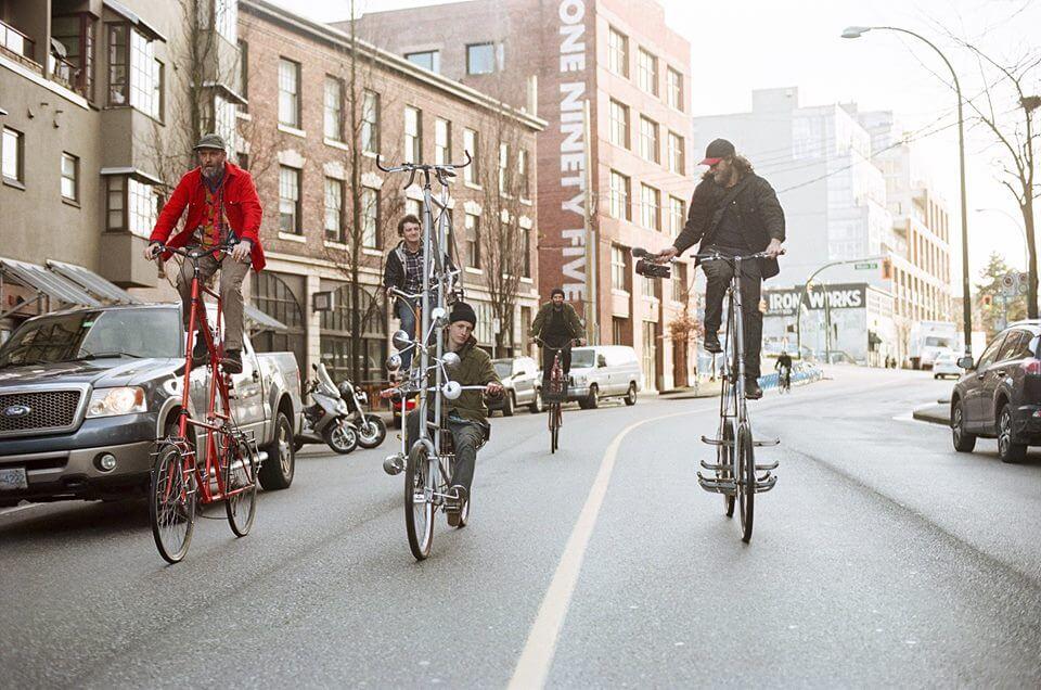 уникальные двухэтажные велосипеды, фото 1