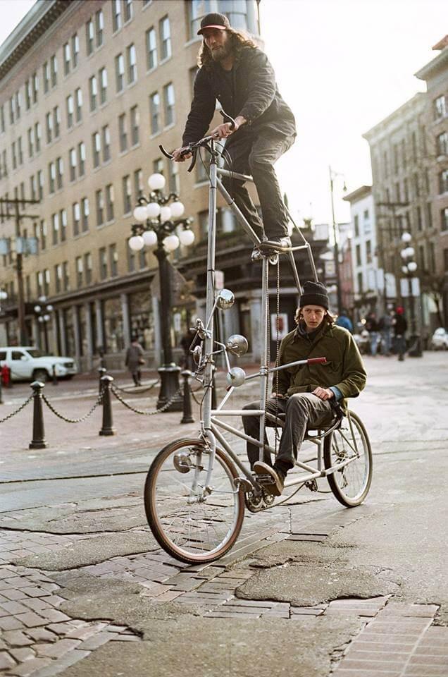 уникальные двухэтажные велосипеды, фото 2