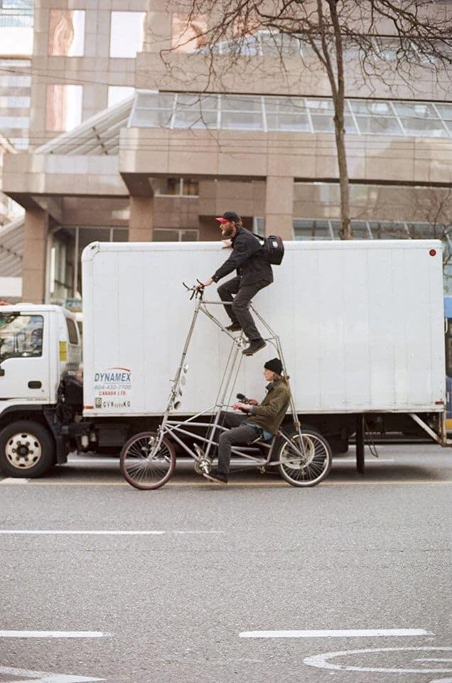 уникальные двухэтажные велосипеды, фото 3