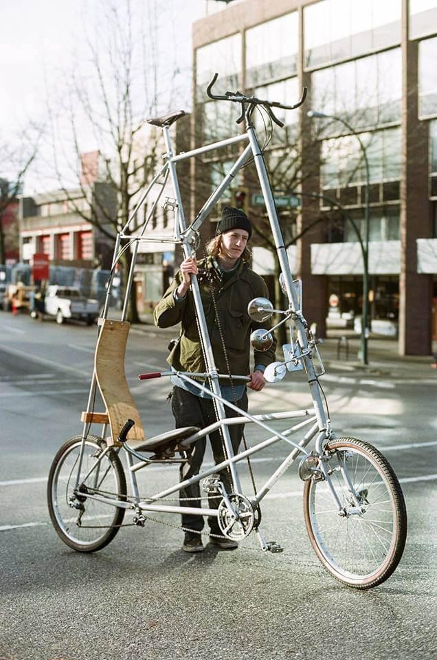 уникальные двухэтажные велосипеды, фото 4