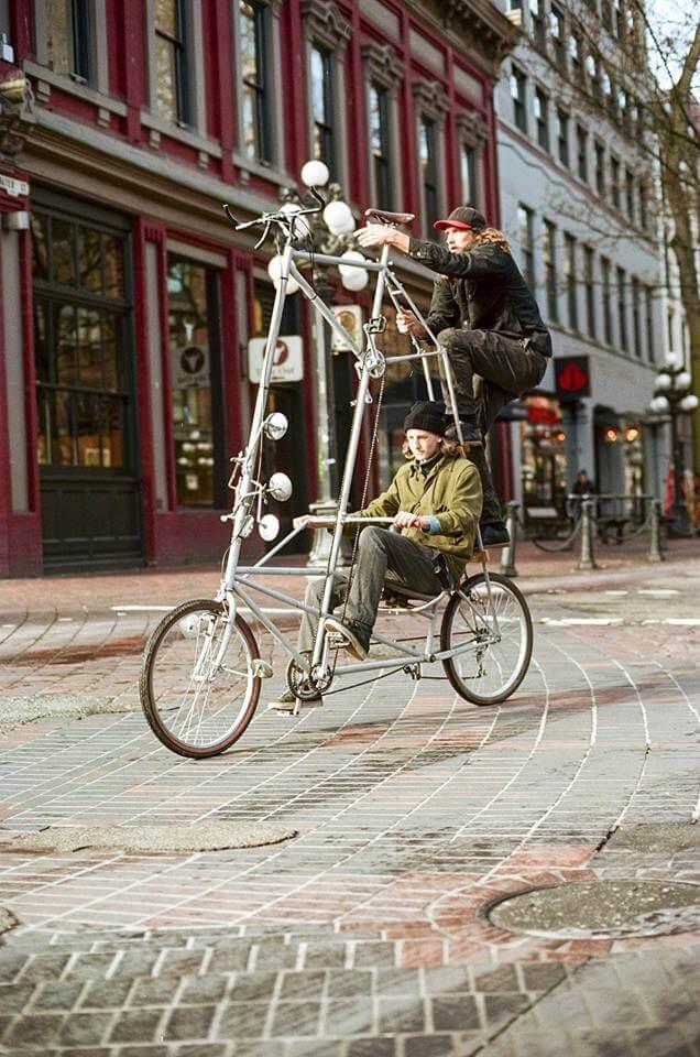 уникальные двухэтажные велосипеды, фото 5