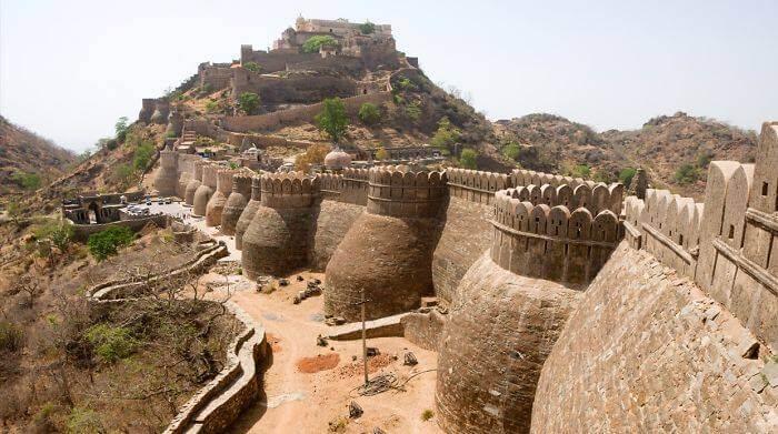 Великая китайская стена Кумбхалгархского форта