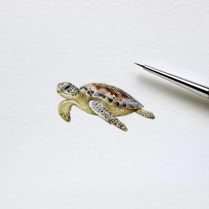 Акварельные миниатюры, фото 10