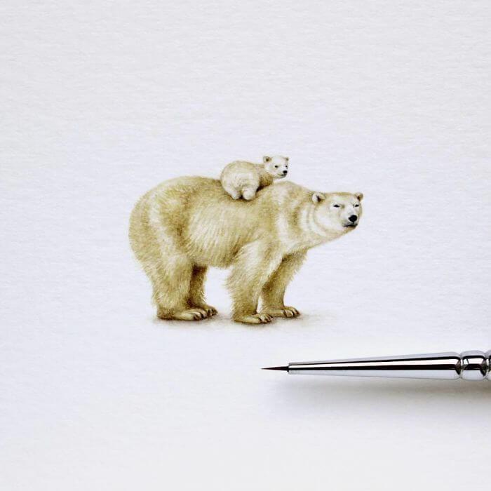 Акварельные миниатюры, фото 17