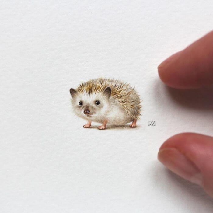 Акварельные миниатюры, фото 2
