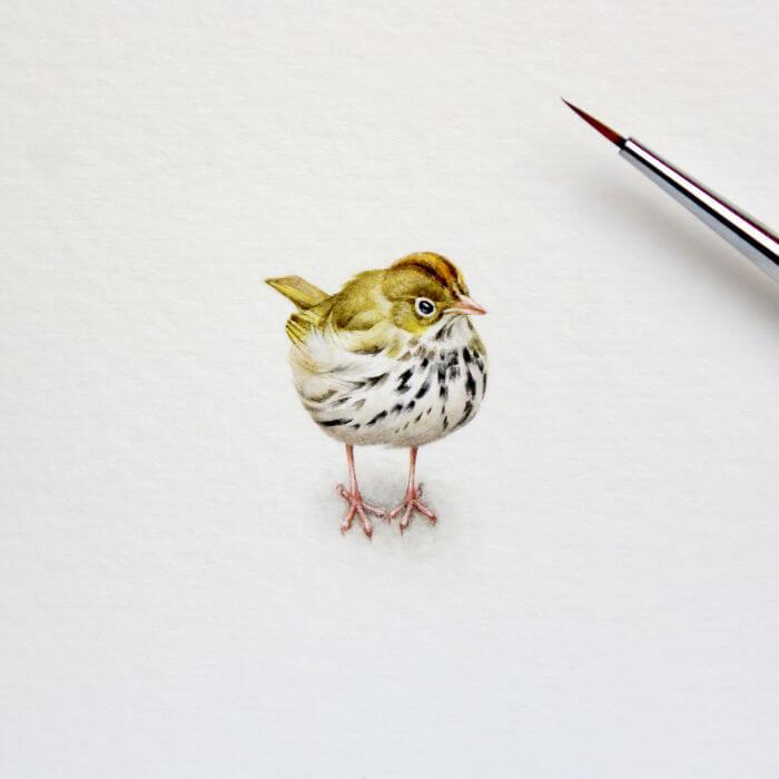 Акварельные миниатюры, фото 9