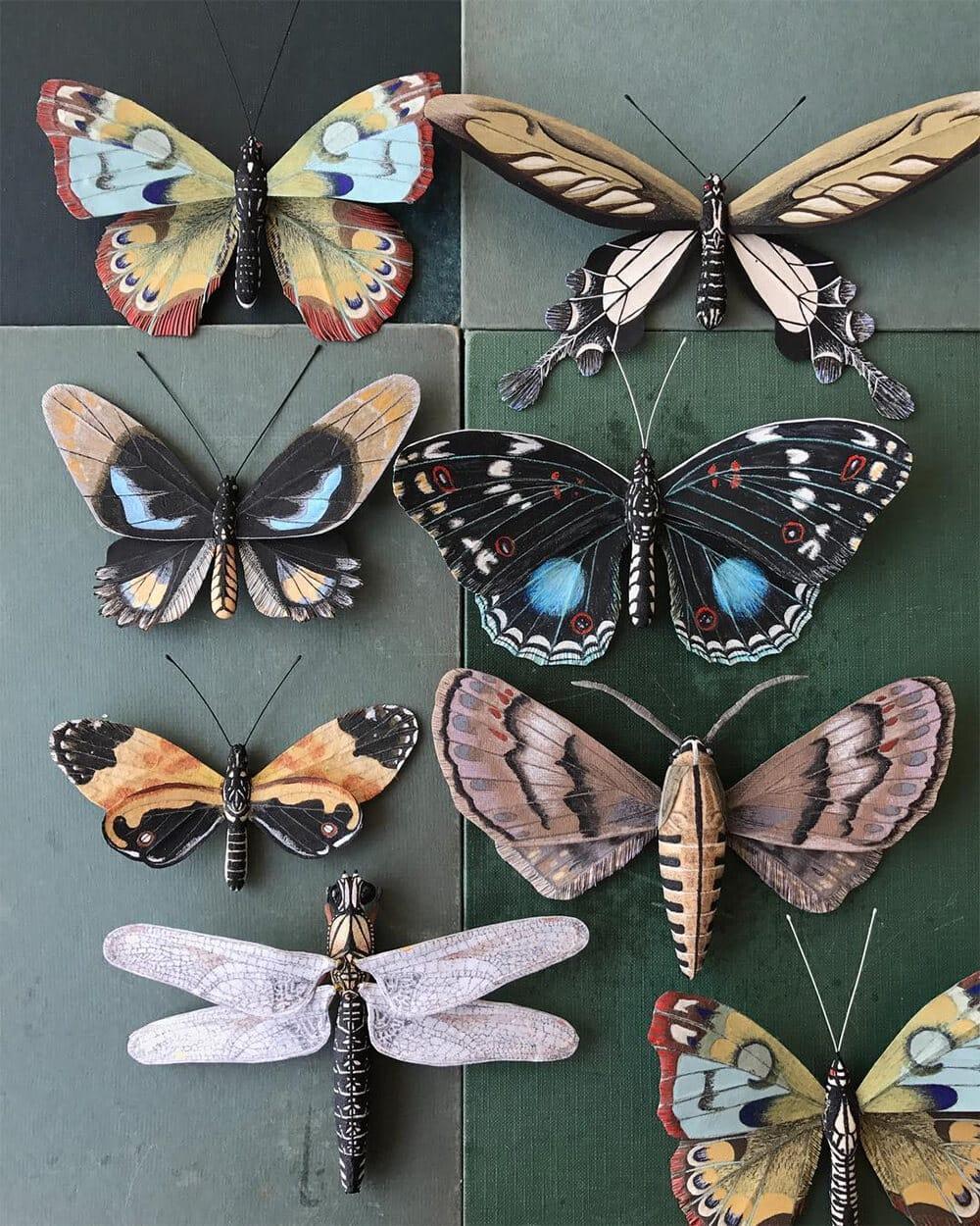 Бумажные модели флоры и фауны, фото 2