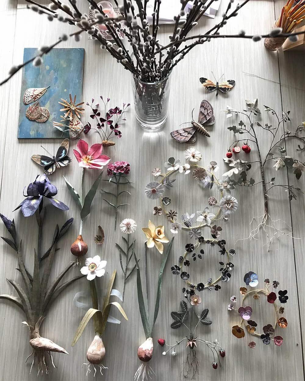 Бумажные модели флоры и фауны, фото 3