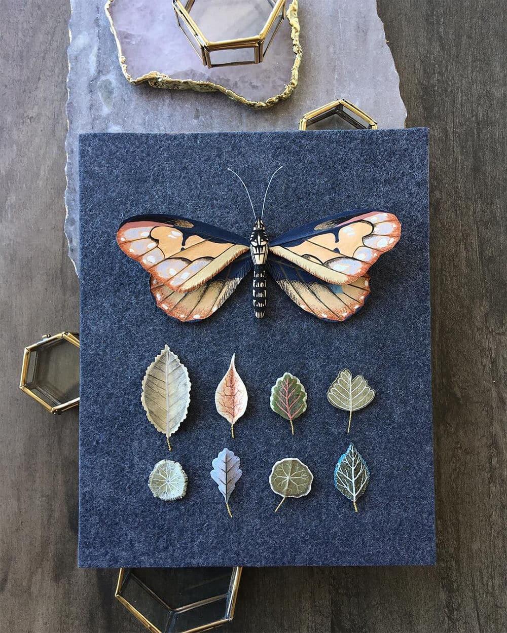 Бумажные модели флоры и фауны, фото 6