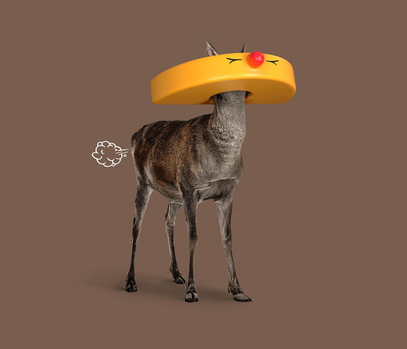 Графический маскарад животных, фото 4