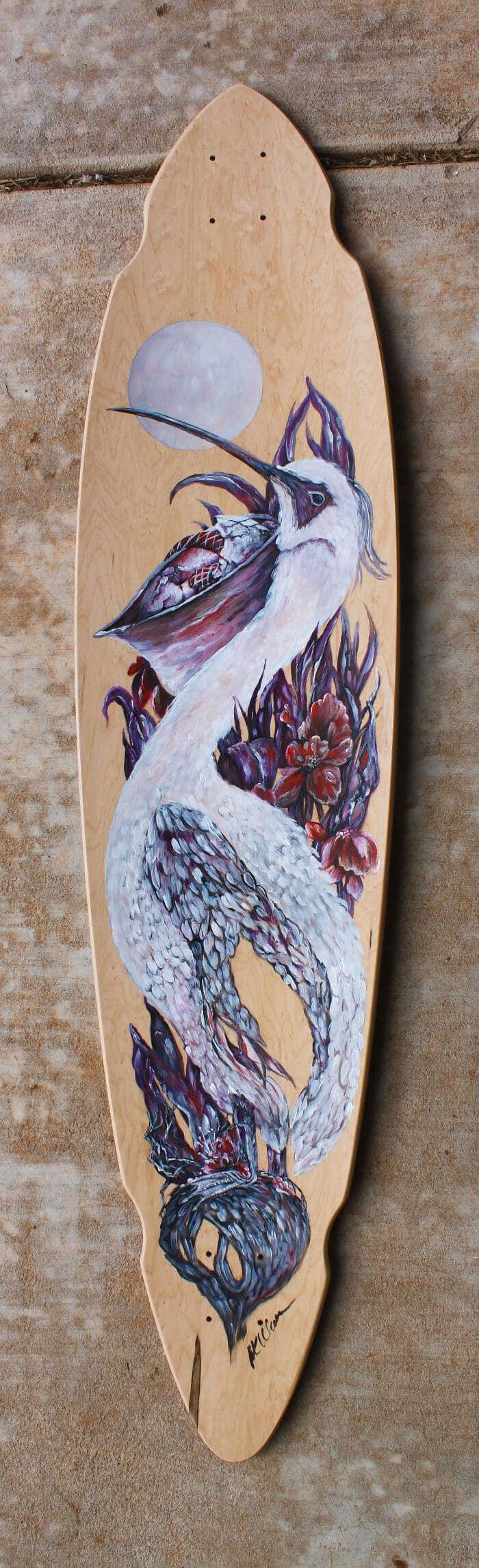 Искусство на скейтборде, рисунок 9