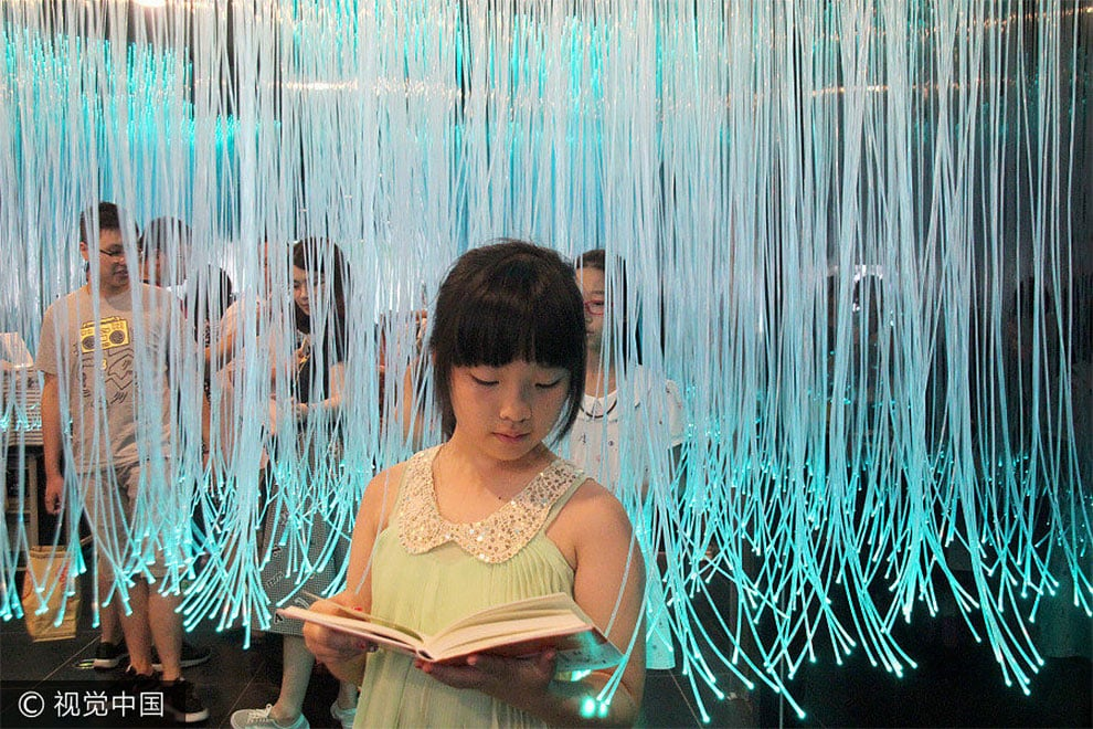 Книжный магазин в Китае - сказочное место, фото 3