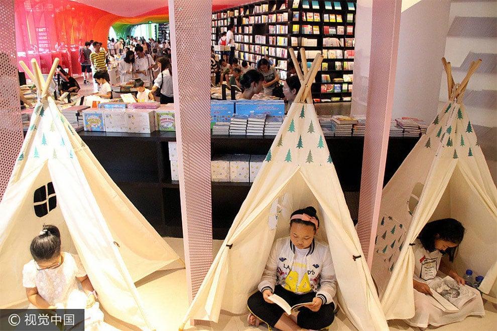 Книжный магазин в Китае - сказочное место, фото 5