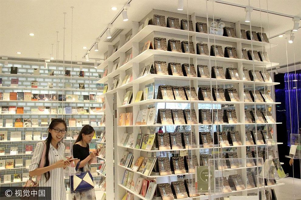 Книжный магазин в Китае - сказочное место, фото 9