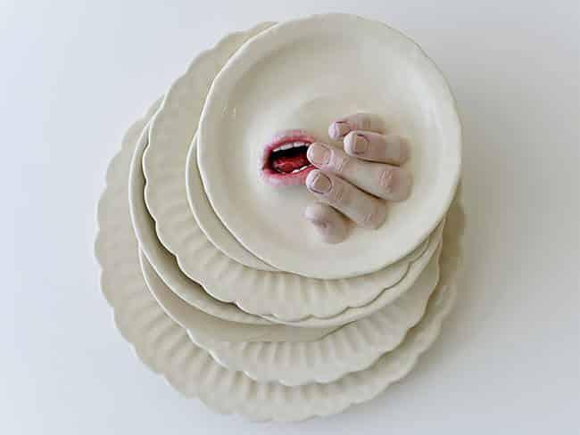 Ожившая керамическая посуда, фото 12