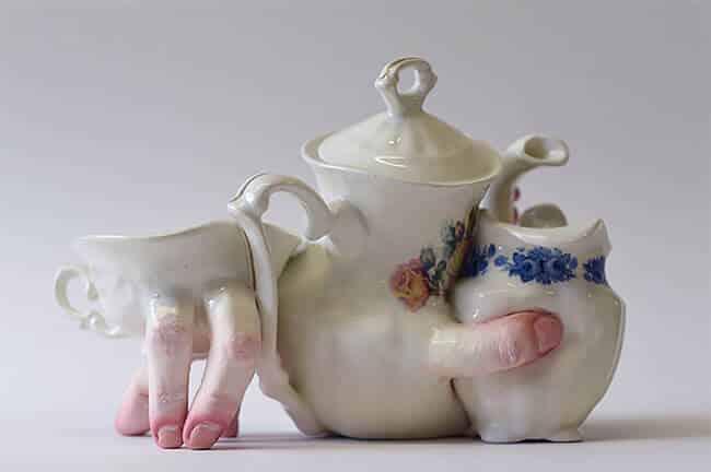 Ожившая керамическая посуда, фото 13