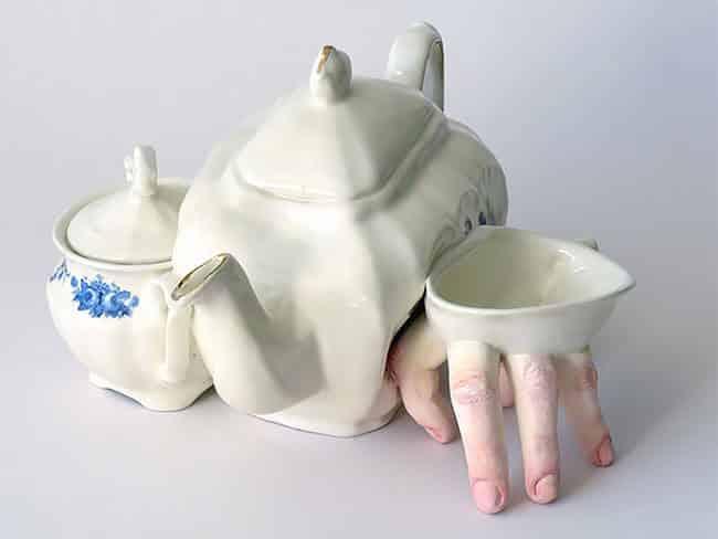 Ожившая керамическая посуда, фото 14