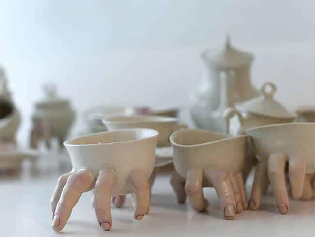 Ожившая керамическая посуда, фото 16