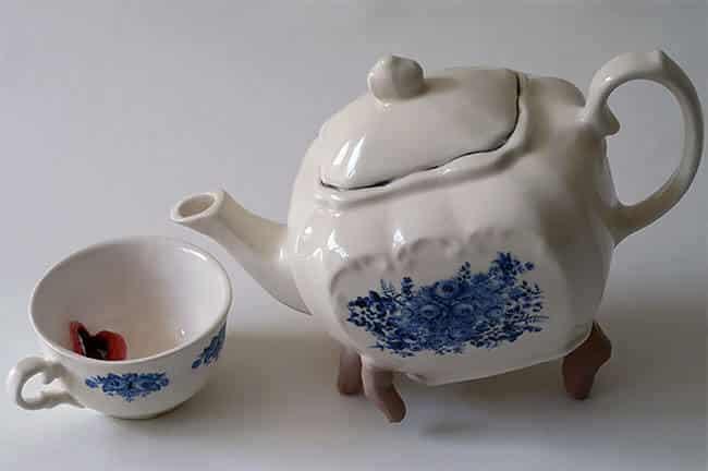 Ожившая керамическая посуда, фото 4